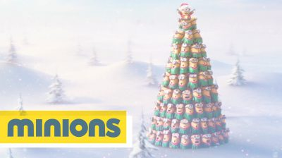 Weihnachten Jingle-Bells Minions 2