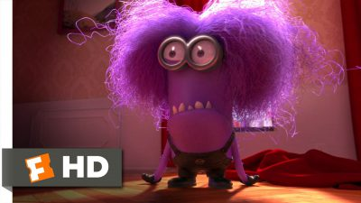 Purple Minion Attack 5