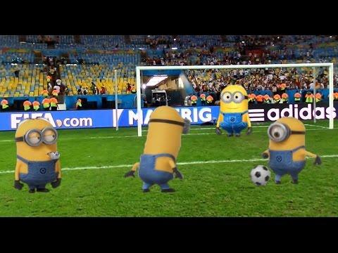 Minions an der Euro 2016