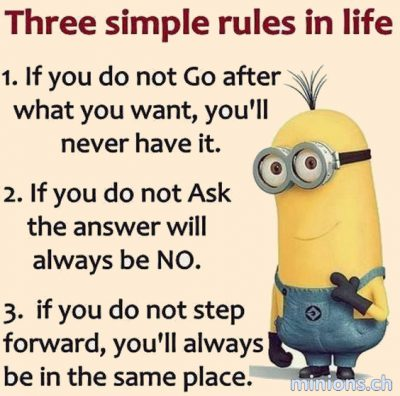 3 Simple Rules in Life 4