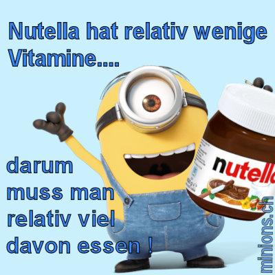 Minions und Nutella