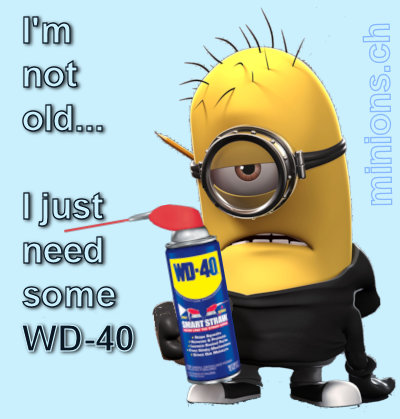Minions – i am not old…