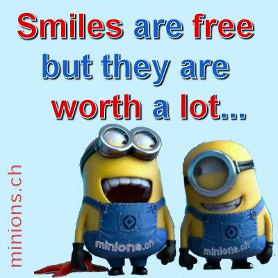 Smiles are free…
