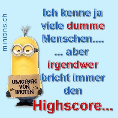 Irgendweg bricht den Highscore…