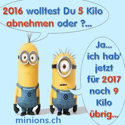 Minions.ch – Gute Vorsätze 2017.. oder?