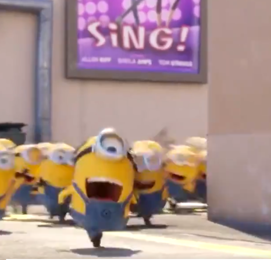 Minions national pizza day